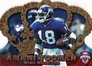 Photo: Amani Toomer 1996 Crown Royale RC
