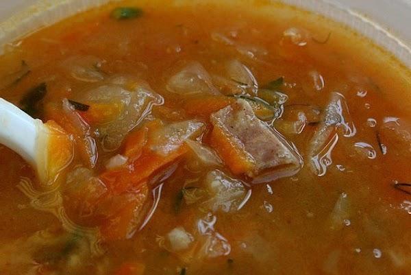 Kapusta (ukrainian Soup) Recipe