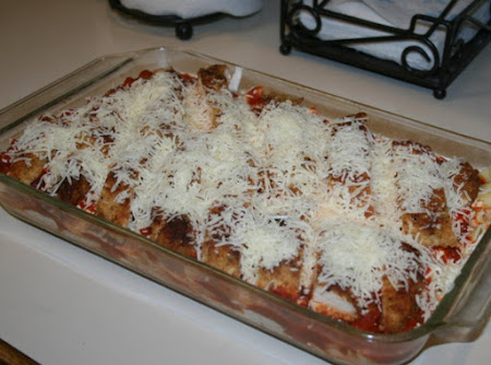 Chicken Parmesan with Penne Pasta Recipe