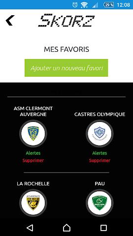android Résultats sportifs en live Screenshot 5