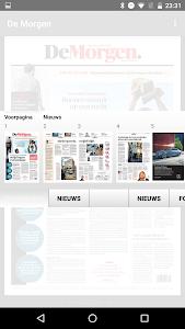 De Morgen digitale krant screenshot 5
