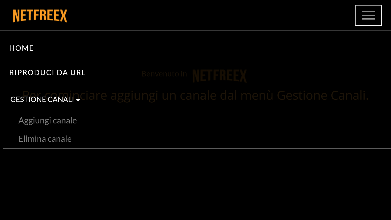 Netfreex- screenshot