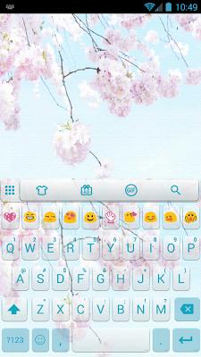 LoveSakuraAzure Emoji Keyboard - screenshot