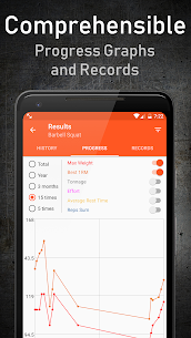 GymUp Workout Notebook PRO free download 3