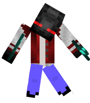 Enderman with a red jacket and blue jeans nothing else is known about it though