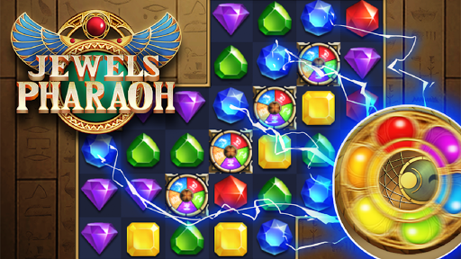 Jewels Pharaoh : Match 3 Puzzle filehippodl screenshot 1