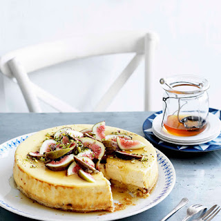 Goat'S Cheese Cake with Figs and Honey Recipe