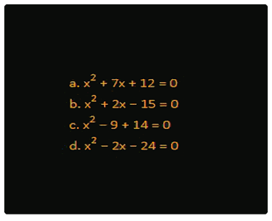 Quadratic Equation - náhled