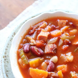 Instant Pot (Tomato Based) Ham and Bean Soup Recipe