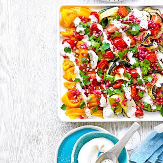 Grilled Vegetable Salad.