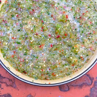 Tomatillo Salsa Verde.