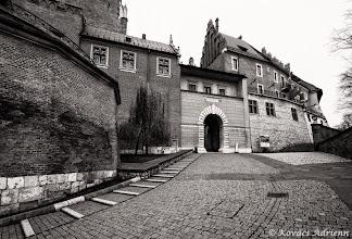 Photo: Wawel bejárat