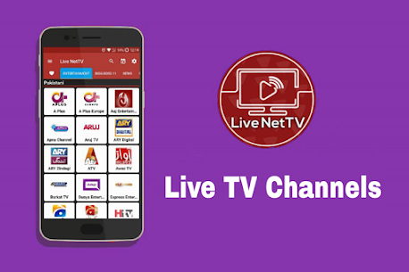 Live Net TV All Channels Free Online Guide 1