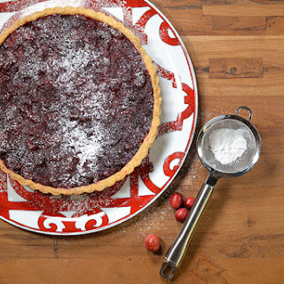 Simple Cranberry Tart