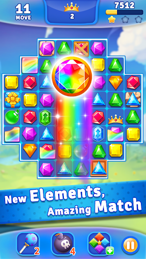 Jewels Crush - Match 3 Puzzle Aventure  captures d'écran 2