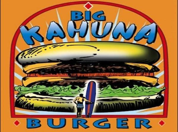 Big Kahuna Hawaiian Burger Recipe