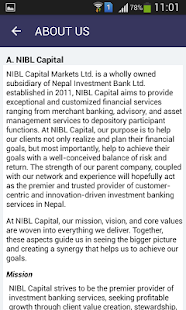 NIBL Capital Market Ltd.- screenshot thumbnail