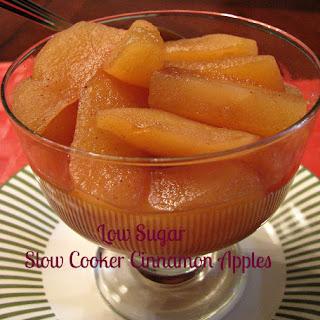 Low Sugar Slow Cooker Cinnamon Apples Recipe