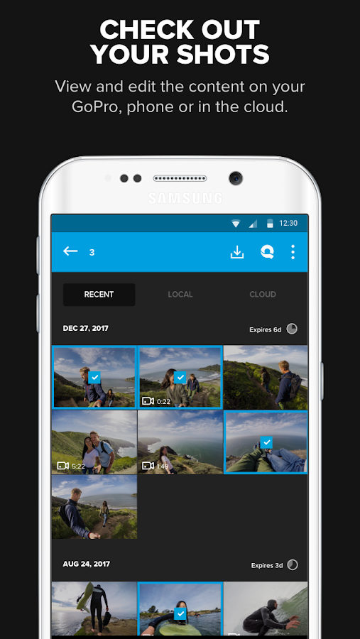 GoPro (formerly Capture)- screenshot