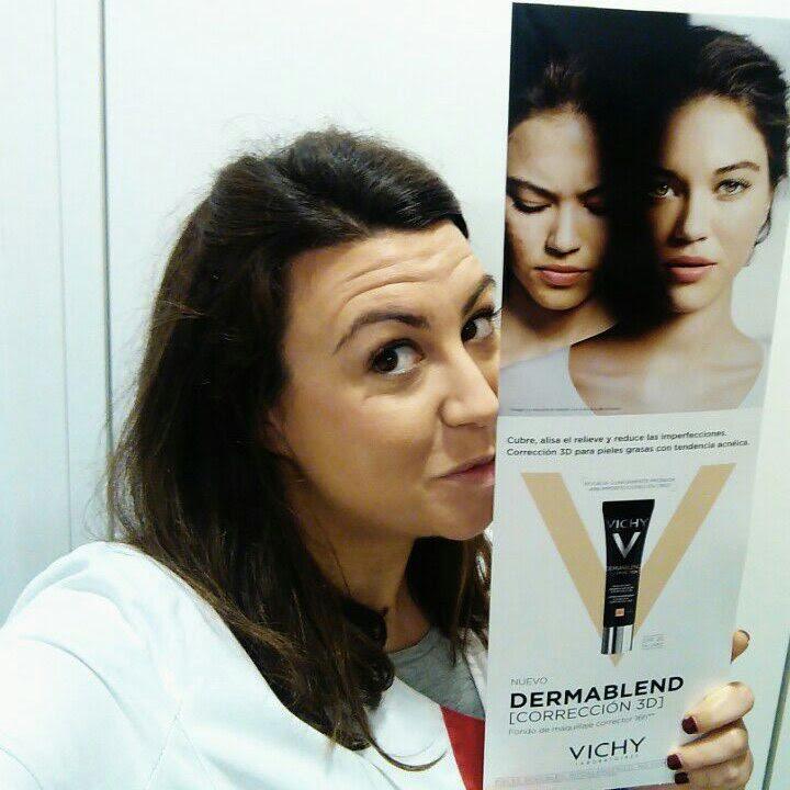 análisis dermablend vichy fondo maquillaje