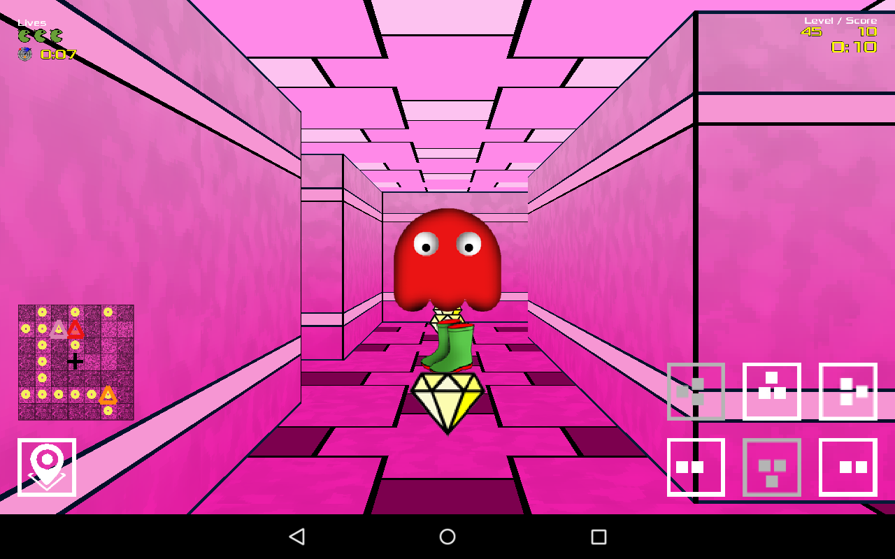 DroidMan 3D- screenshot