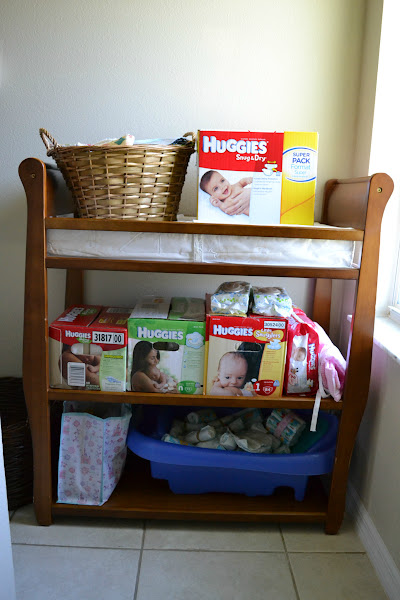 Photo: Can you tell we are loyal to Huggies? I only use the best for my baby!! ;)