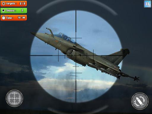 Jet Sky War Fighter 2019: Airplane Shooting Combat apktram screenshots 7