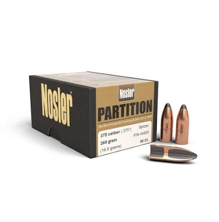 Nosler Partition® .375 260gr 50st