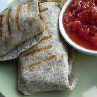 Crispy Bean Burritos