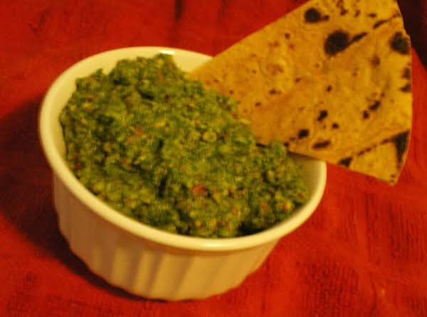 Chard And Basil Pesto With Toasted Almonds