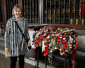 Photo: Kasa lukkoja, mutta tällä kertaa ei avioliiton kestävyyden symboleina, kuten monessa paikkaa Euroopassa, vaan sen tueksi, että ihmiset eivät juoruilisi, että suut pysyisivät kiinni!