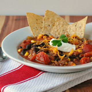 Black Bean Taco Soup