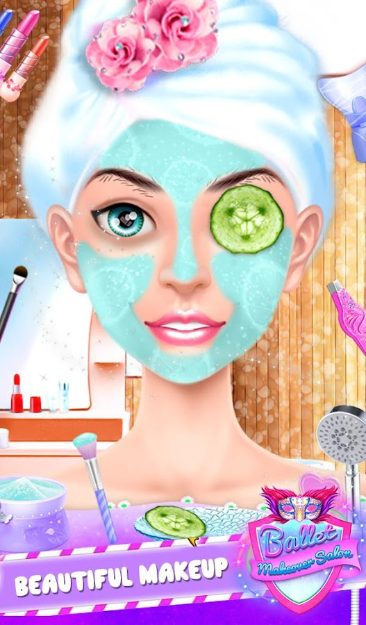 Ballet Doll Makeup Salon Spa- screenshot
