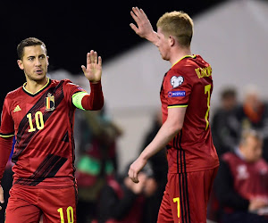 De Bruyne et Hazard aux côtés de Messi et Iniesta dans un prestigieux classement