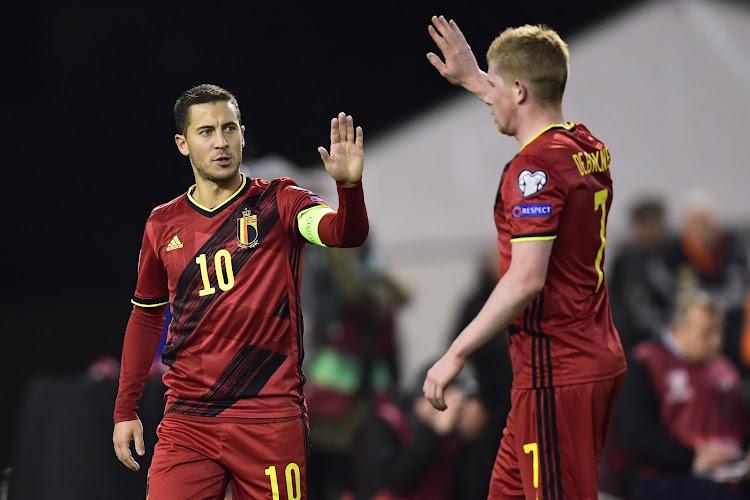 De Bruyne en Hazard naast Messi en Iniesta in prestigieus klassement