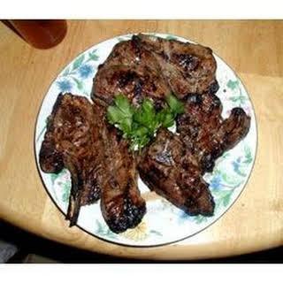 Herbed Lamb Chops.