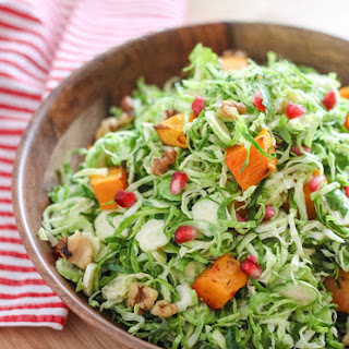 Shaved Brussels Sprout Salad with Apple Cider Vinaigrette Recipe