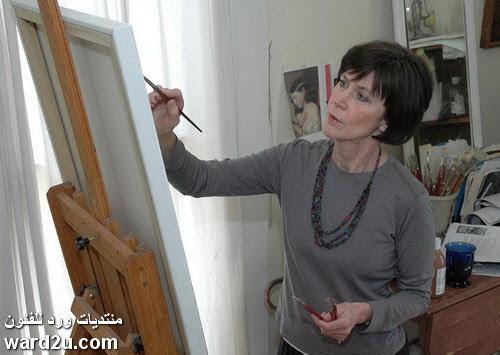 الفنانة الامريكية المبدعة Judith Dickinson