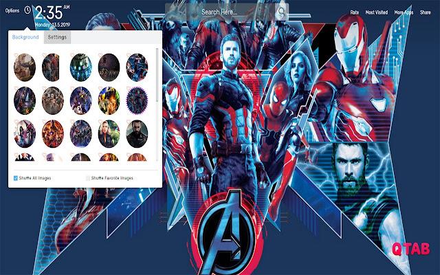 Avengers Infinity War Wallpapers HD Theme