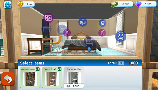 Holly's Home Design - screenshot