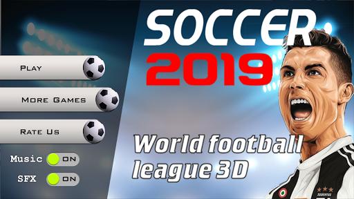 Soccer 2019 - World football league 3D 1.4 de.gamequotes.net 2