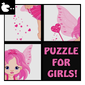 Kids Slide puzzle for girl
