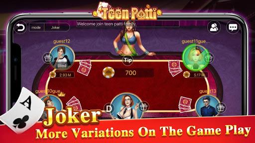 TeenPattiKing - 3 Patti Poker Card Game 1.0.1 screenshots 8