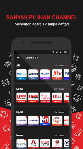 UseeTV GO - Watch TV & Movie Streaming 6.1.1 Screenshots 3