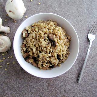 Mushroom Wheat Berry Sauté