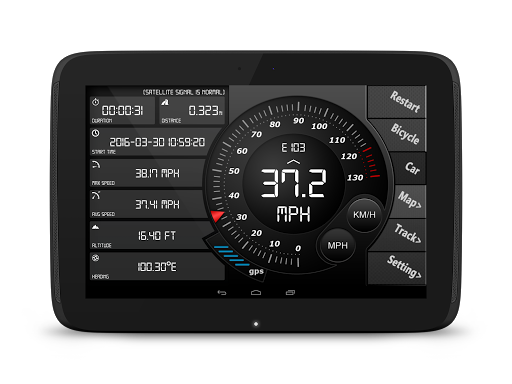 Digital Dashboard GPS Pro Apps for Android screenshot