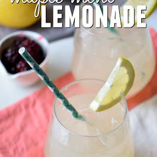 Refreshing Maple Mint Lemonade