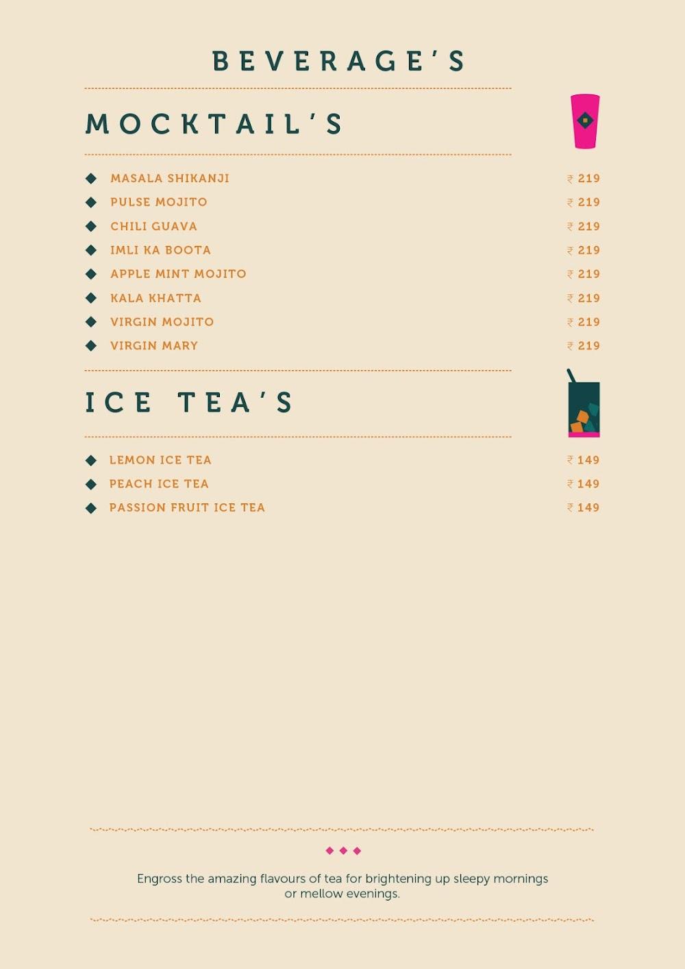 Anardana Modern Kitchen & Bar menu 11