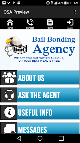 android Doc Bail Bonding Screenshot 3