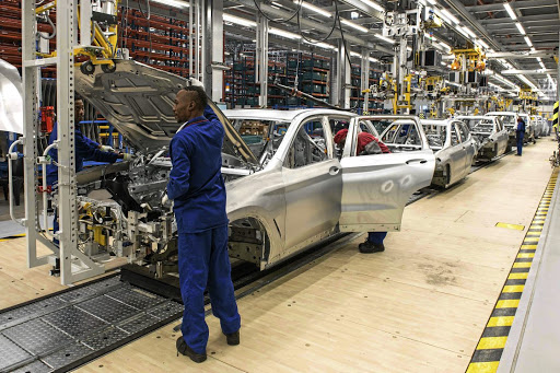 X3 models built in SA will be sold here and exported to Europe.   Picture:  BMW